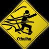 Cthulhu Warning Sign-100
