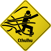 Cthulhu Warning Sign-100