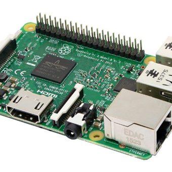 Raspberry Pi 3 Model B (Quad-Core ARM Cortex-A53 CPU 1200MHz, 1024MB RAM)